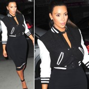 Chic Kim Kardashian Outfits For the Holidays